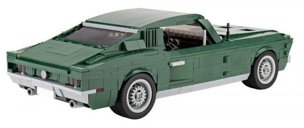 Grünes US-Muscle-Car