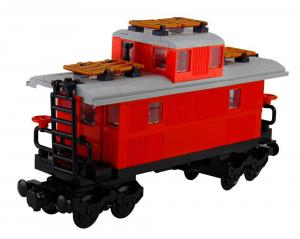 Classical Western Train Caboose Wagon
