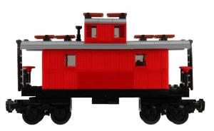 Classical Western Train Caboose Wagon