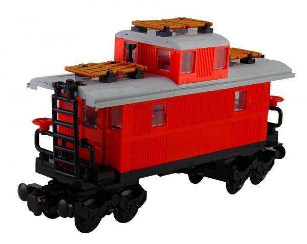 Klassischer Westernzug Caboose Wagon