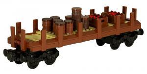 Klassischer Westernzug Güterwagon