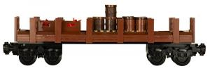 Classical Western Train Freight wagon