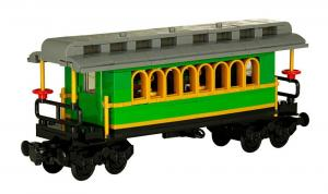 Classical Western Train Passenger Wagon