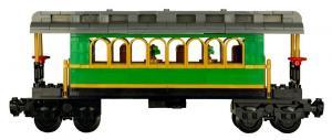 Classical Western Train Passenger Wagon
