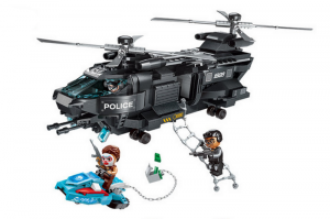 SWAT - Block Mission Adler mit Helikopter