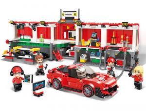 Mobile pit lane