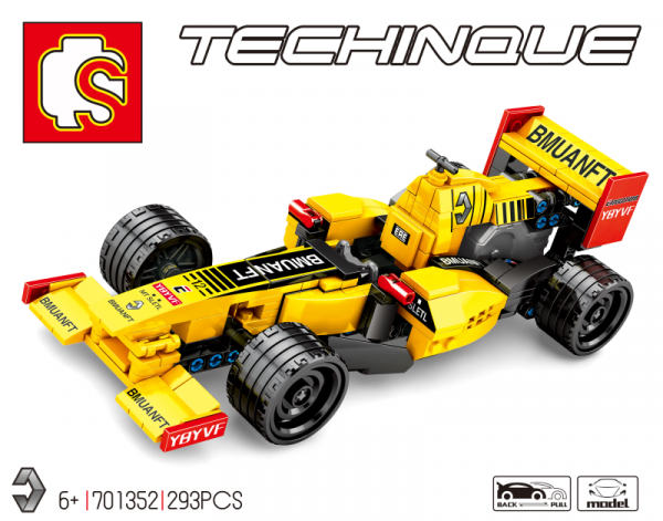 Technic Formular Car in yellow