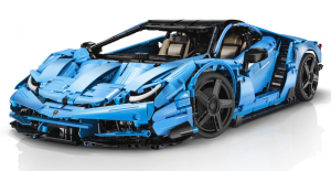 Super-Car in blau