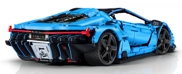 Super-Car in blau