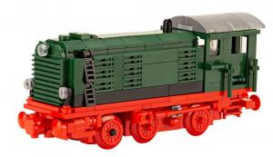 Diesel locomotive V36 green