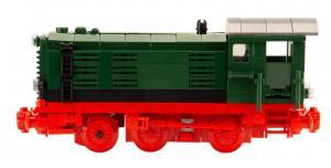 Diesellokomotive V36 grün