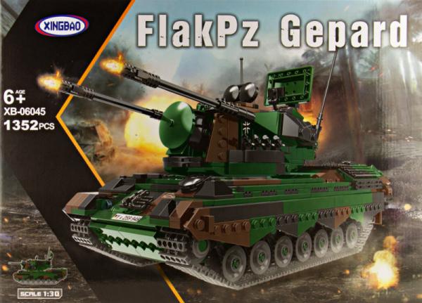FlakPz Gepard, Bundeswehr