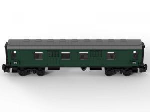 Train Parcel trolley dark green