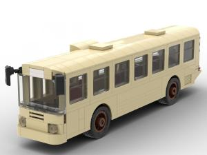 Classic old Bus (tan)