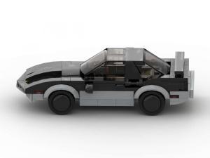 kleines schwarzes Gangsterauto