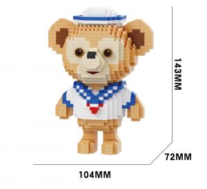 Bear (diamond blocks)
