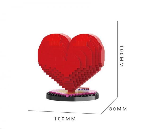 Heart (diamond blocks)