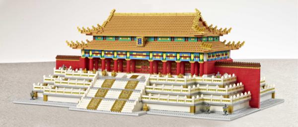 Halle der Erhaltung der Harmonie (diamond blocks)