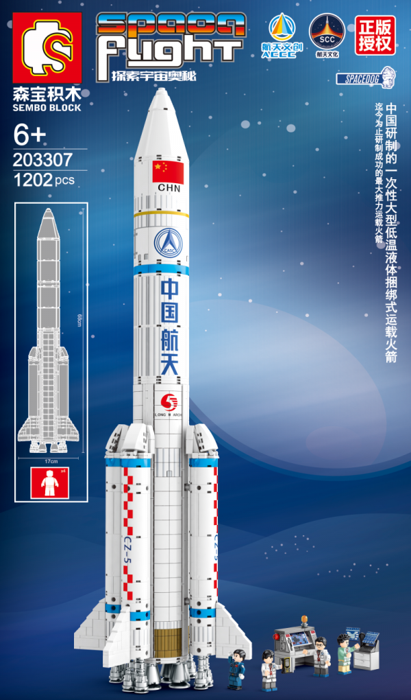Space Flight: Trägerrakete