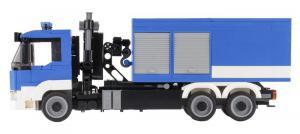 Technisches Hilfswerk WLF mit zwei Containern