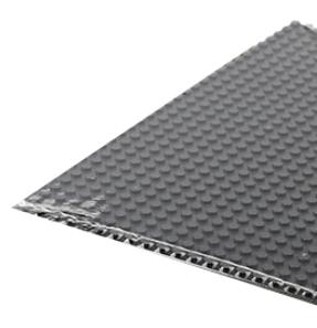 Plate 28x56, black