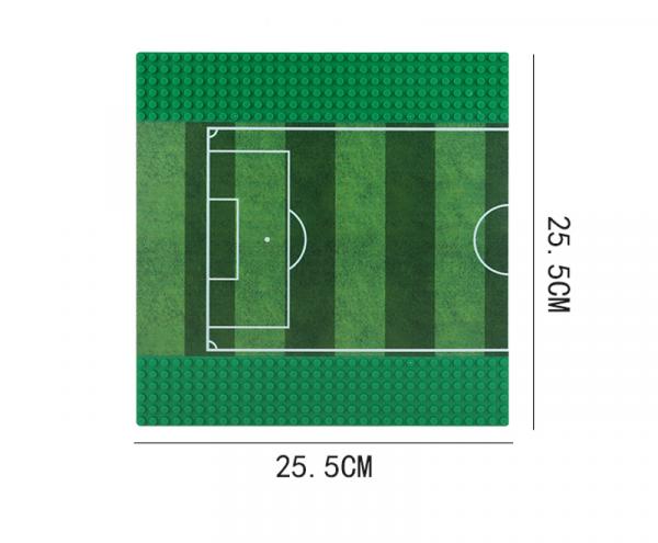 Grundplatte Straße 32x32, Fußballplatz