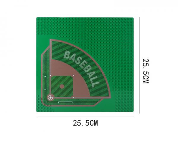 Grundplatte Straße 32x32, Baseballplatz