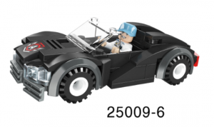 Mini-Fahrzeug schwarz