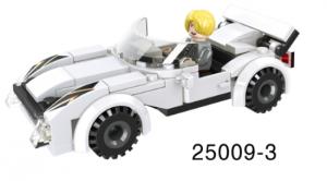 Mini-Fahrzeug weiß