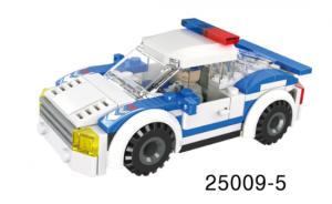 Mini-Fahrzeug Polizei