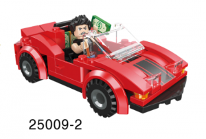 Mini-Fahrzeug rot