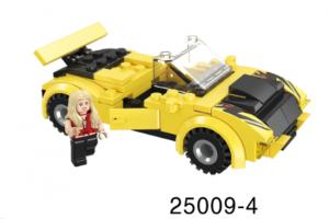 Mini-Fahrzeug gelb