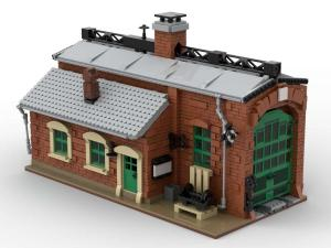 small Locomotive shed