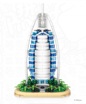 Burj al Arab Hotel, Dubai (mini blocks)