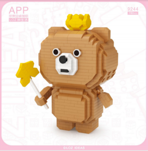Bear with magic wand (Diamond Blocks)