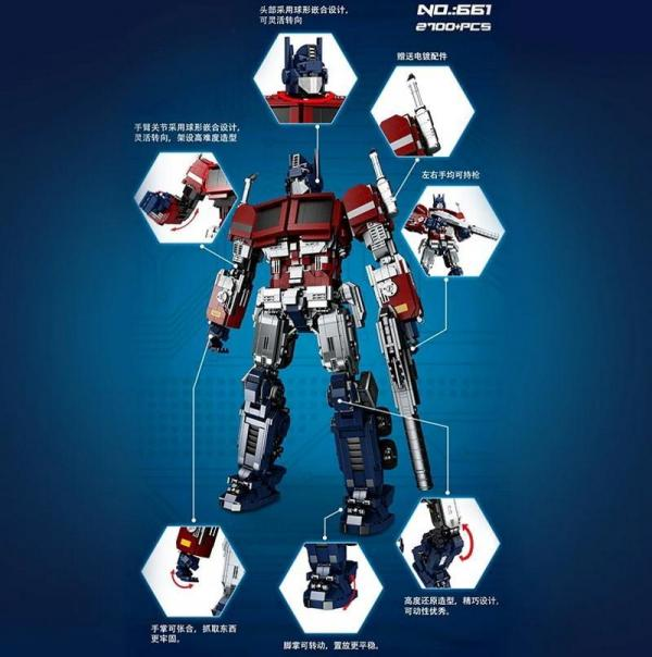 Robot red/blue