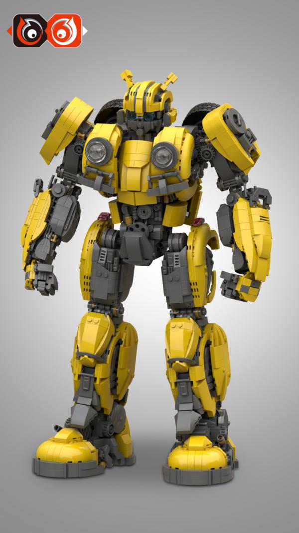 Robot yellow