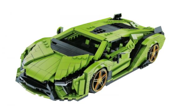Supersportwagen hellgrün