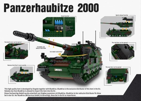 Panzerhaubitze 2000, Bundeswehr