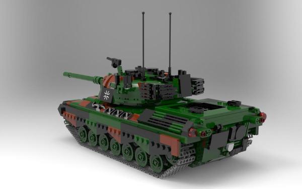 Kampfpanzer Leopard 1, Bundeswehr
