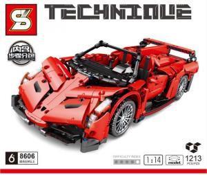 Racingcar in red