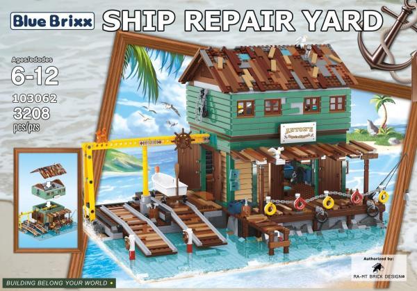 Schiffsreparaturwerft