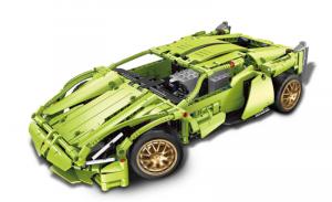 Racing Car in green