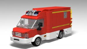 Firedepartment Rescue Car