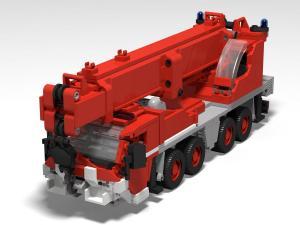 Firedepartment Mobile Rescue Crane