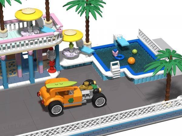 Amerikanisches Strand Motel