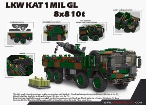 LKW KAT 1 MIL GL 8x8 10t, Bundeswehr