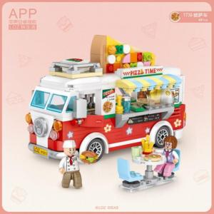 Pizza Truck (mini blocks)
