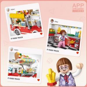 Pizza Truck (mini blocks)