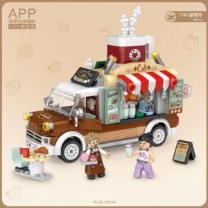 Kaffee Wagen (mini blocks)